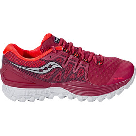 saucony Xodus ISO 2 Shoes Damen berry/coral